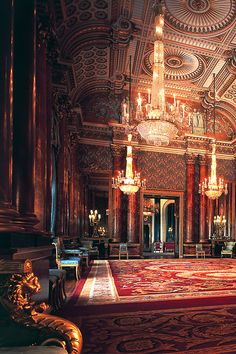 The Blue Drawing Room, Buckingham Palace [Photographer: Peter Smith]