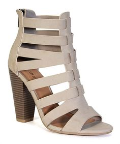 Cream Mash Sandal