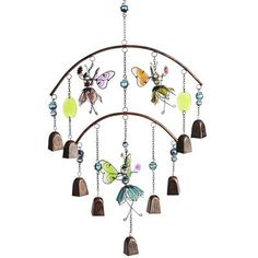Fairies Wind Chime from Pier 1  So cute! Description from pinterest.com. I searched for this on bing.com/images