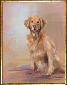 Corel Painter brushes by Elite Painter Master Karen Sperling for turning pet photos into paintings.