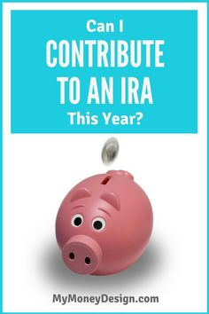 "Question: ""Can I contribute to an IRA this year?"" What happens if you're already covered by a retirement plan at work, such as a 401(k), 403(b), etc.? Can you still also save your money into an IRA, or will the IRS consider this double-dipping? In this post, we'll sort through the facts and see what it takes to qualify. - MyMoneyDesign.com"