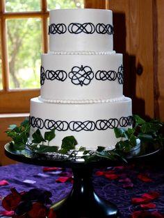 Infinity Wedding Cake Smooth Ercream