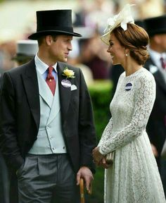 I like her hat...and he is sharp! :-)