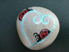Valentine Painted Rocks 14