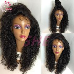 7A Grade Lace Front Wigs Brazilian Virgin Hair 100% Unprocessed Full Lace Human Hair Wigs with Baby Hair for Black Women Online with $77.07/Piece on Sheladyhouse's Store | DHgate.com