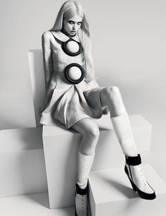 The Most Important Thing About Dreams Is Having One. Abbey Lee Kershaw: i-D F/W '11. Photographed by: Richard Bush.