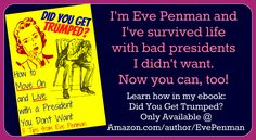 I've got 8 years' experience of life w/a president I loathe. Learn how I survived @ #Amazon http://a.co/gHzkqrh  #notmypresident #trumped #ebooks #selfhelp #howto #movingon #election2016 #nowwhat