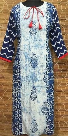 Indigo Magic Kurti
