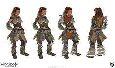 Nora Silent Hunter costume concept art by Joseph Noel