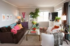 10 Small, Cool Living Rooms (& What Their Stylish Owners Have to Say!)