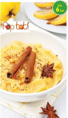 piure gutuie_biscuiti Kids And Parenting, Baby Food Recipes, Macaroni And Cheese, Biscuits, Deserts, Vegan, Cookies, Ethnic Recipes, Recipes For Baby Food