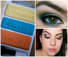 A look by Emily E. Using Wet n' Wild's A Regular at the Factory eyeshadow trio.