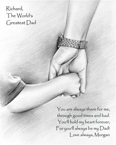 Art Discover World& Greatest Dad Personalized Art Print Pencil Art Drawings Art Drawings Sketches Easy Drawings Drawings For Dad Birthday Quotes For Daughter Best Birthday Quotes Dad Drawing World& Greatest Dad Hand Art Dad Drawing, Girl Drawing Sketches, Girly Drawings, Cool Art Drawings, Pencil Art Drawings, Easy Drawings, Drawings For Dad, Drawing Art, Birthday Quotes For Daughter
