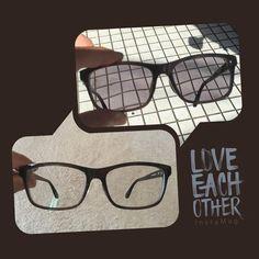 新しいサングラスを作ったよ 度付きサングラスで調光仕様 紫外線を感じると黒くなって部屋に入ると透明になるよ 遠近もつけたからこれで出かける時にサングラスとメガネの二本持ちをしなくて済む #sunglasses #sunglass #glass #glasses  #サングラス #メガネ #遠近両用