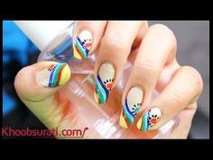 French Manicure Nail Art Design By Khoobsurati.com