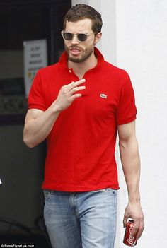 Fifty shades of hunk: Jamie Dornan has joked that after portraying sex-crazed Christian Gr...