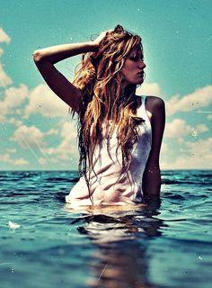 Cool off in the summer heat #summer #heat #ocean #model #water