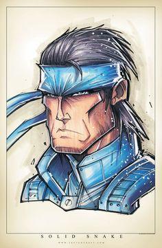 Metal Gear by RobDuenas.deviantart.com on @DeviantArt