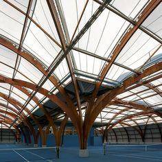 Spoutnik Architecture : Rénovation du Tennis Club de Bourg-la-Reine