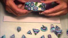 Three Caned Bracelets Polymer Clay Tutorial by Teresa Pandora Salgado