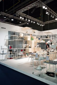 Serax booth at Interieur 2014, designed by Studio Simple // photo via 70percentpure.be