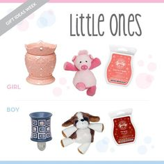 Perfect ideas for those little ones on your list:) http://whatswarming.scentsy.us