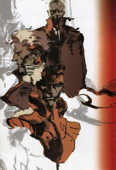 Yoji Shinkawa's Metal Gear stuff was the best.