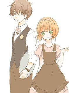 Cardcaptor Sakura Waiter and Waitress