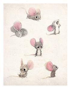 Kennst du schon die Geschichte mit der Maus und ihre beiden grossen Ohren? Na dann hör genau hin, was ich dir über sie alles zu berichten weiß! Spitz die Ohren....