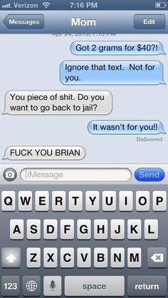 What Happens If You Text Your Parents Pretending To Be A Drug Dealer?