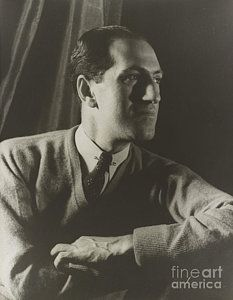 Jazz Musician Photograph - George Gershwin, American Composer by Science Source