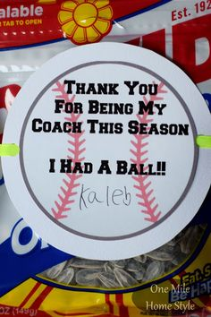 Quote for coach's gift