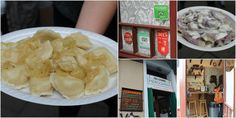 Pierogi (dumplings) - are one of Polish dishes that can be named a wonder. Even thought may look like a hard dish to do, don't be fooled! Dorota, our lovely tour guide, recalled a story from when she did her first pierogi and she could not believe that only from flour and boiled water you could create such tasty things. The secret, I believe, is in the way the filling is done.