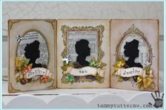 Tammy Tutterow | Hinged Cabinet Card Cameos