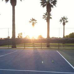 Tennis courts. <3