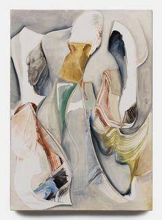 Lesley Vance at David Kordansky Gallery, Untitled, 2012, oil in linen