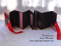 Tarjetas Boutique Galy Crafts: Mini álbum