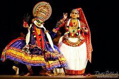 Kathakali - dance form in kerala , india
