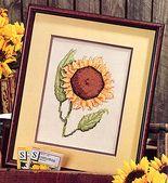 Sunflower Glory Cross Stitch Pattern ePattern