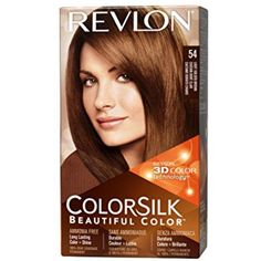 Revlon Colorsilk Haircolor, Light Golden Brown, (Pack of 3) -- Want additional info? Click on the image. (This is an affiliate link and I receive a commission for the sales)