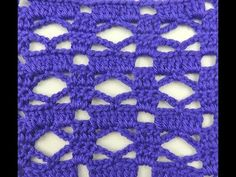 Crochet: Punto Combinado # 30 - YouTube