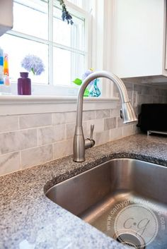 Loving Our White Cabinets Luna Pearl Granite Countertops