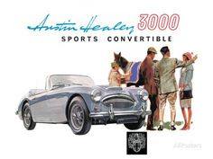 Austin Healey 3000 Convertible Posters sur AllPosters.fr