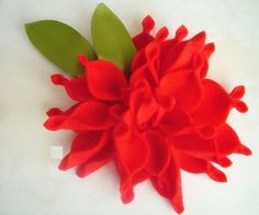 Love this Red Dahlia.  I've never seen this sstyle before