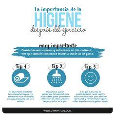 higiene_web Yoga Fitness, Fitness Tips, Fitness Motivation, Health Fitness, Skin Tips, Healthy Life, Health Tips, Dental, Skin Care