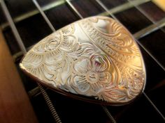 Vintage Silver & Brass Guitar Pick Taylor Fender Lot for Acoustic Electric.  Click on the picture to buy!