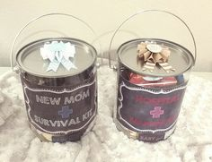 Check out this item in my Etsy shop https://www.etsy.com/listing/244157903/hospital-survival-kit-baby-shower-gift