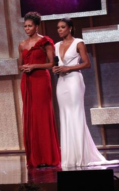 Michelle Obama & Gabrielle Union ♥