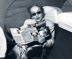 "Miss Dietrich reading ""MARLENE D. The Legend"" theatrical program"