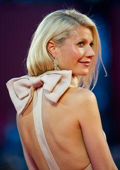 Bows. Gwyneth paltrow